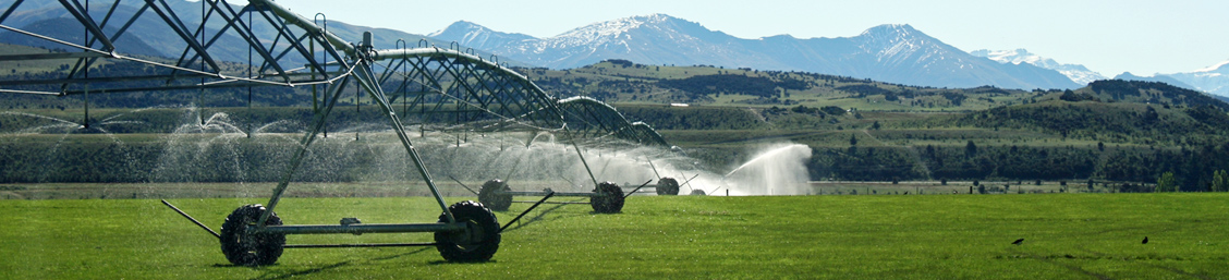Irrigation Equipment, Dairy Farm